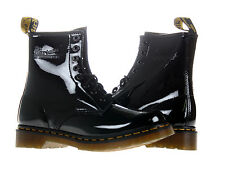 Dr. Martens 1460 Black Patent Lamper 8 Eye Womens Boots 11821011