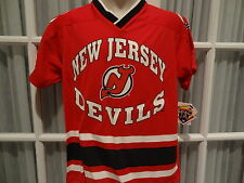 NWT NHL New Jersey Devils Short Sleeve Knit Team Jersey - Youth Sizes S - XL