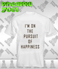 I'm On The Pursuit Of Happiness Kid Cudi 100% pre-shrunk Cotton T-Shirt