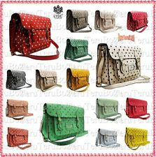 New LYDC Designer Polka Dot Ladies Satchel/Shoulder Bag/School Bag/Messenger Bag