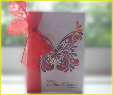 Butterfly Colour Splash Wedding Invitations & stationery - Marriage personalised
