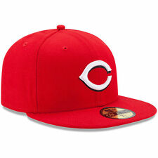 New Era 5950 CINCINNATI REDS On Field Home Cap MLB Baseball Fitted Red Hat