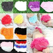 Infant Baby Girl Various Ruffles Bloomer Pantie Brief Pant For Pettiskirt 6m-3Y