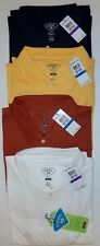 Haggar Cool 18 Mens Solid Performance Polo Moisture Wicking