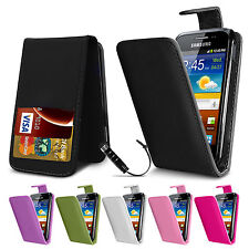 New Flip Wallet Leather Case Cover For Samsung Galaxy Ace S5830 Free Protector