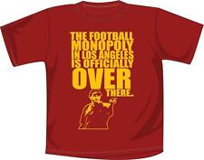 """USC t-shirt """"Monopoly In Los Angeles is Over There"""" NCAA Football Apparel"""