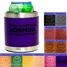 Personalized Can Koozies Wedding Party Favors Groomsmen Bridesmaids Gifts Coozie