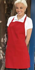 Uncommon Threads adjustable 2 patch pockets bib apron, multiple colors, 3016