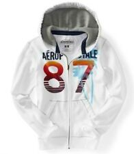 NEW Aeropostale Eclectic Aero 87 Mens Zip Up Sweatshirt Hoodie Jacket M L XL XXL