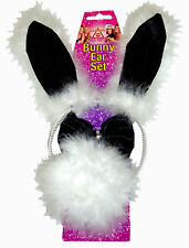 Hen Party Bunny Set - Ears, Tail and Bow Tie