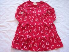 NWT Girl's Gymboree Cozy Cutie red long sleeve candy cane dress ~ 4 5 7 10