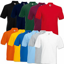 FRUIT OF THE LOOM POLOSHIRT POLO PIQUE 65/35 M L XL XXL 3XL 4XL 5XL SHIRTS NEU
