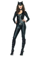 Womens Sexy Catwoman Adult Cat Halloween Costume