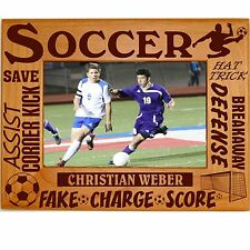 Personalized Soccer Picture Frames 4x6 5x7 8x10 Boys Girls Team Custom Photo