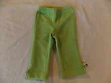 NWT Girl's Gymboree Cheery All The Way elastic green pants ~ 6 12 18 months 4T