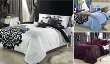 8 PC BEDDING SET - COMFORTER SET - BED IN A BAG - 3 COMBOS