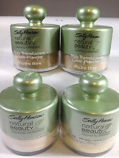 SALLY HANSEN NATURAL BEAUTY TRULY TRANSLUCENT LOOSE POWDER ♥YOU CHOOSE COLOR♥