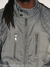 L-R-G Lifted Reserch Group Jacket New $125 Mens Classic Gray Coat Choose Size