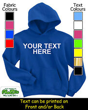 PERSONALISED KIDS HOODIE / HOODIES - GREAT GIFT & NAMED FOR A CHILD TOO