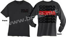 Smoke Gray Cobra Cobra Cobra short and long sleeve shirt sold by Peter Brock BRE