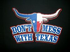 Cool Tshirt Dont Mess With Texas Longhorn Gun Country Border Big Lone Star State