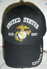 USMC Marine Cap Choose Your Color Officially Licensed by the Corp Semper Fi Hat