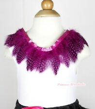 White Tank Top Shirt Exotic Peacock Hot Pink Print Feather Lacing Pettitop NB-8Y