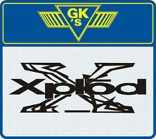 Xplod vehicle graphic - Sticker - Decal