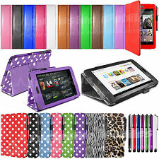 "Smart Stand PU Leather Case Sleep Wake Cover For Asus Google Nexus 7 7"" inch Tab"