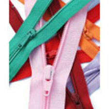14 inch/36cm Light Weight YKK Open End Zip - 20 Colours to choose from
