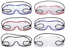 NEW- FLEX-Z MINI SkyDiving Parachute Goggles | Clear Lens with Coloured Trim