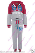 Age 2 3 4 5 6 GIRLS TRACKSUIT Girls Hoodie POCKET SUIT CLOTHING Joggers NEW