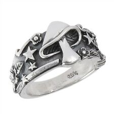 Sterling Silver MUSHROOM Magic Charms Ring Size 6-12