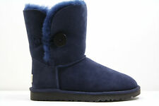 [5803] WOMEN UGG AUSTRALIA BAILEY BUTTON!! NAVY BLUE !! ORIGINAL 100% AUTHENTIC!