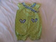 NWT Girl's Gymboree Darling Butterfly shirt shorts outfit 0 3 6 12 18 24 months