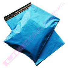 "LARGE BLUE POSTAGE MAILING BAGS 17 x 21"" MAIL POUCHES SACKS *MULTI ITEM LISTING*"