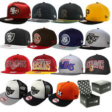 NEW ERA CAP SNAPBACKS 9FIFTY CAPS - NEW ERA HATS ( BRAND NEW - 100% ORIGINAL )
