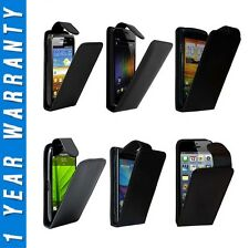 Leather Flip Case Cover Pouch With LCD Screen Protector For Various Mobile Phone