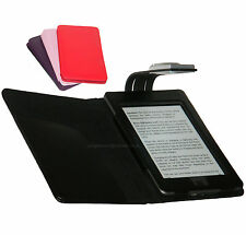 FOR AMAZON KINDLE TOUCH WiFi AND 3G - CASE COVER WALLET WITH LED READING LIGHT