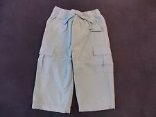NWT Boy's Gymboree Construction Crew blue elastic pants ~ 6-12 months 4T 5T
