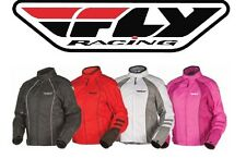 FLY RACING Ladies Georgia Motorcycle Jacket Girls Females Riding Cruiser Harley