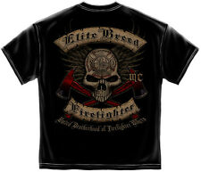 Shirt United Brotherhood Of Firefighter Bikers EMS Paramedic Volunteer Rescue MC
