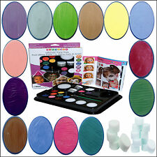 Snazaroo Ultimate Face Paint Kit Childrens Birthday Halloween Carnival Make Up