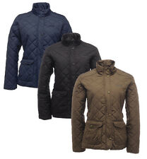 Regatta Ladies Jacket Diamond Quilted Water Repellent Missy Jacket