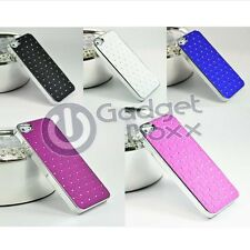 CUSHION QUILTED DESIGNER DIAMOND RHINESTONE CRYSTAL BLING CASE FOR APPLE IPHONE5