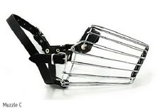 Wire Basket Muzzle for Dogs from Leerburg