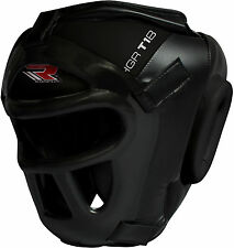 RDX Detachable Bar Head Guard Helmet Boxing MMA Martial Arts Gear Protector Kick