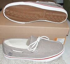 NEW TIMBERLAND EK EARTHKEEPERS NEWMARKET NEW MARKET SLIP ON Boat Shoes MENS NIB