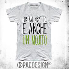 T-SHIRT DRUNK MOJITO PARTY FIESTA HAPPY HOUR WHY SO MY HAPPINESS
