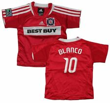 Adidas Chicago Fire MLS Soccer Toddlers BLANCO # 10 Home Replica Jersey